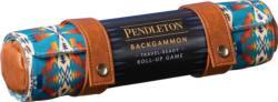 Pendleton Backgammon: Travel-Ready Roll-Up Game