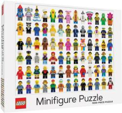 Lego Minifigure Collage Jigsaw Puzzle