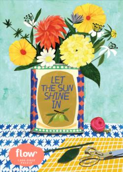 Let The Sun Shine In Flowers Jigsaw Puzzle