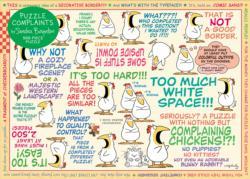 Puzzle Complaints - Scratch and Dent Cartoon Jigsaw Puzzle