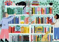Book Nerd Bookshelves Jigsaw Puzzle