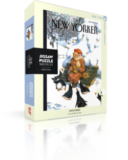 Snow Birds (The New Yorker) Snow Jigsaw Puzzle