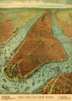The City of New York New York Jigsaw Puzzle