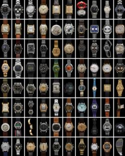 Iconic Watches - Scratch and Dent Pattern / Assortment Jigsaw Puzzle