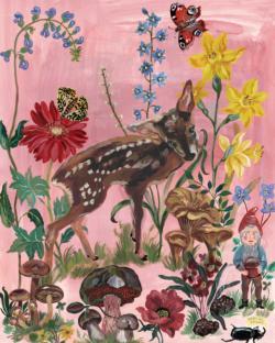 Bambi Garden Jigsaw Puzzle