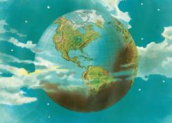 Planet Earth Maps / Geography Jigsaw Puzzle