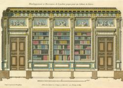 The Library Bookshelves Jigsaw Puzzle