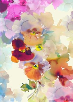 Pansy Dreams Flowers Jigsaw Puzzle