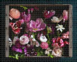 Cultivated Flowers Jigsaw Puzzle
