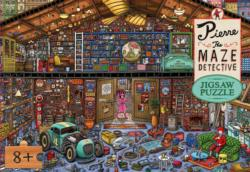 Pierre the Maze Detective Jigsaw Puzzle Cartoons Jigsaw Puzzle
