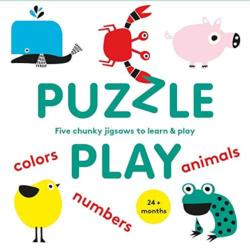 Puzzle Play: Five Chunky Jigsaws to Learn & Play Animals Chunky / Peg Puzzle
