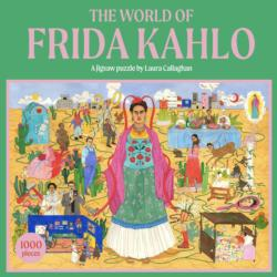 The World of Frida Kahlo Famous People Jigsaw Puzzle