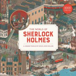 The World of Sherlock Holmes Movies / Books / TV Jigsaw Puzzle