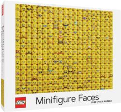 LEGO Minifigure Faces Collage Impossible Puzzle