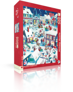 Holiday Hustle Snow Jigsaw Puzzle