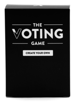 The Voting Game Create Your Own Expansion Party Games