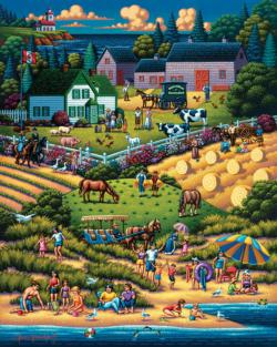 Prince Edward Island Green Gables - Scratch and Dent Canada Jigsaw Puzzle
