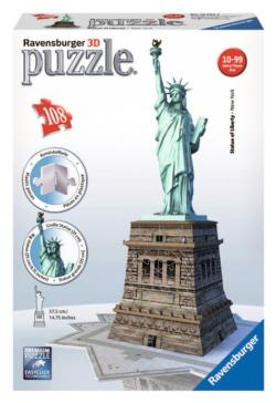 Statue of Liberty New York 3D Puzzle