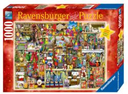 The Christmas Cupboard Christmas Jigsaw Puzzle