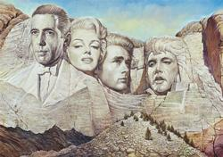 Mount Hollywood Famous People Jigsaw Puzzle