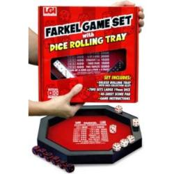 Farkle Rolling Tray Set Family Games