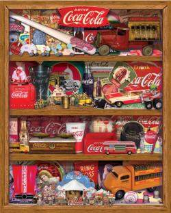 Coca-Cola Collection Collage Jigsaw Puzzle