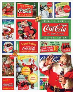 Santa's Coca-Cola Christmas Santa Jigsaw Puzzle