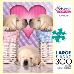 Puppy Love (Adorable Animals) Dogs Large Piece