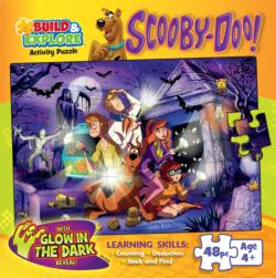 (Build & Explore)Scooby-Doo! Movies / Books / TV Children's Puzzles