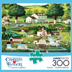 Country Gardens Summer Jigsaw Puzzle
