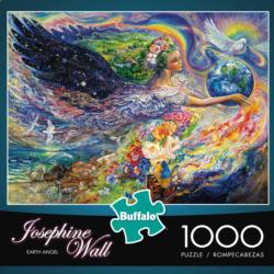 Earth Angel Abstract Jigsaw Puzzle
