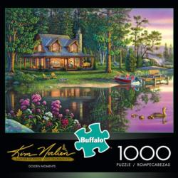 Golden Moments Landscape Jigsaw Puzzle
