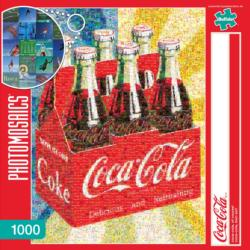 Coca-Cola, of Course! Coca Cola Photomosaic Puzzle