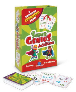 Super Genius Addition Strategy/Logic Games Family Games