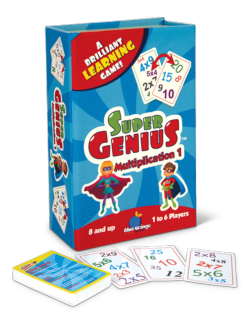 Super Genius Multiplication Family Games Family Games