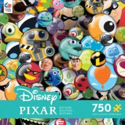 Pixar Buttons (Disney) Collage Children's Puzzles
