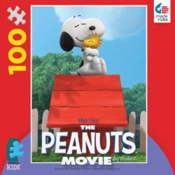 Snoopy Hugs Woodstock (The Peanuts Movie) Movies / Books / TV Children's Puzzles