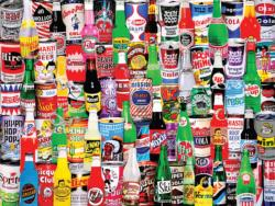 Soda Pop Collage Jigsaw Puzzle