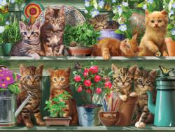 Spring Kittens Everyday Objects Jigsaw Puzzle