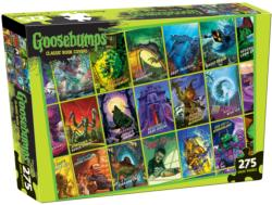 Goosebumps Book Cover Puzzle Collage Jigsaw Puzzle