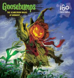 The Scarecrow Walks at Midnight (Goosebumps Puzzle ) Movies / Books / TV Children's Puzzles