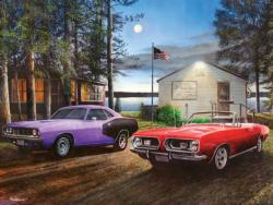 Barracuda Lake Cottage / Cabin Jigsaw Puzzle