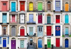 32 Doors (Colorluxe) Photography Jigsaw Puzzle