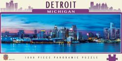 Detroit United States Panoramic Puzzle