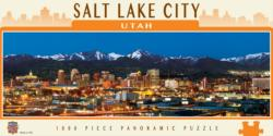 Salt Lake City Cities Panoramic Puzzle