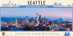 Seattle Cities Panoramic Puzzle