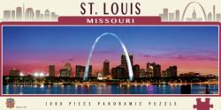 St. Louis St. Louis Panoramic Puzzle