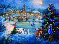 A Joyful Celebration - Scratch and Dent Snow Jigsaw Puzzle
