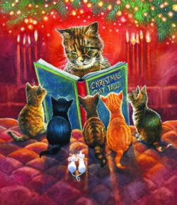 Cat Tales Kittens Jigsaw Puzzle