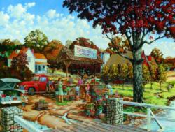 Stone Creek Farm Nostalgic / Retro Jigsaw Puzzle